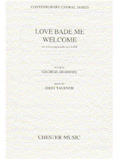 John Tavener: Love Bade Me Welcome Books | SATB, Piano Accompaniment