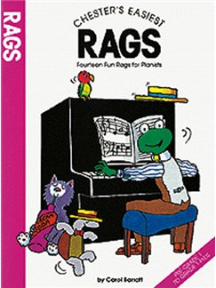 Chester's Easiest Rags Books | Piano