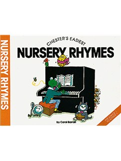 Chester's Easiest Nursery Rhymes Books | Piano