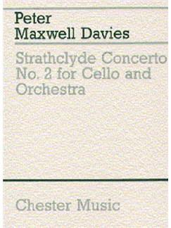 Peter Maxwell Davies: Strathclyde Concerto No. 2 (Miniature Score) Books | Cello, Orchestra