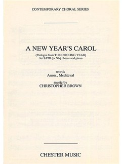 Christopher Brown: A New Year's Carol Books | Soprano, Alto, (Tenor, Bass), Piano