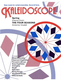 Antonio Vivaldi: Kaleidoscope - Two Spring Themes (The Four Seasons) Books | Ensemble