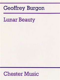 Geoffrey Burgon: Lunar Beauty (Tenor or Medium Voice/Guitar) Books | Medium Voice and Guitar