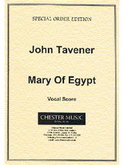 John Tavener: Mary Of Egypt (Vocal Score) Books | Soprano, Alto, Bass, SATB, High Voice, Piano Accompaniment