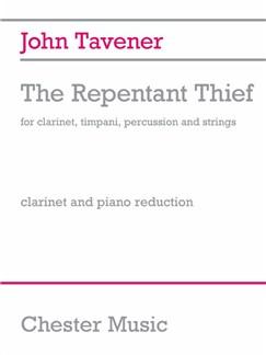 John Tavener: The Repentant Thief  (Clarinet/Piano) Bog | Klarinet, Klaverakkompagnement