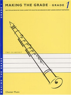 Making The Grade: Grade One (Clarinet) Books | Clarinet, Piano Accompaniment