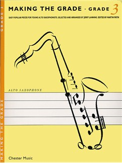 Making The Grade: Grade Three (Alto Saxophone) Books | Alto Saxophone