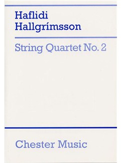 Hallgrimsson: String Quartet No. 2 (Score) Books | String Quartet