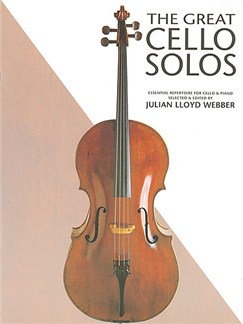 The Great Cello Solos Livre | Violoncelle, Accompagnement Piano