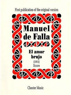 Manuel De Falla: El Amor Brujo (score) Books | Orchestra