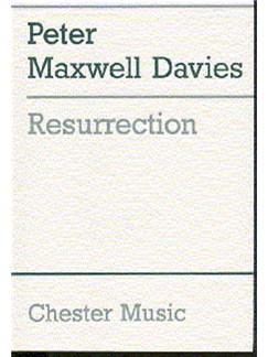 Peter Maxwell Davies: Resurrection Books | Orchestra, Voice (Quartet), Brass Ensemble