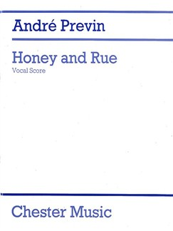 Andre Previn: Honey And Rue (Vocal Score) Books | Soprano, Piano