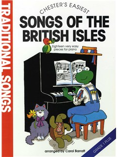 Chester's Easiest Traditional Songs Of The British Isles Books | Piano