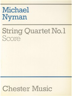 Michael Nyman: String Quartet No. 1 Score Books | String Quartet