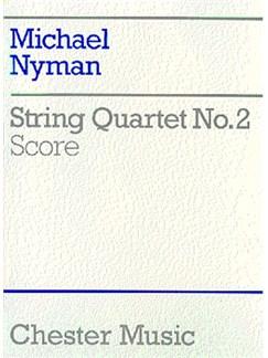 Michael Nyman: String Quartet No. 2 Score Books | String Quartet
