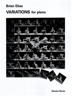 Brian Elias: Variations For Piano Books | Piano