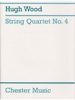 Hugh Wood: String Quartet No.4 Op.34 (Score And Parts) Books | String Quartet