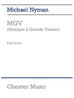Michael Nyman: MGV (Musique A Grande Vitesse) - Study Score Libro | Música de Cámara, Orquesta