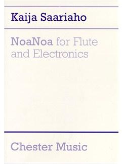 Kaija Saariaho: NoaNoa for Flute and Electronics Livre | Flûte Traversière, Électroniques
