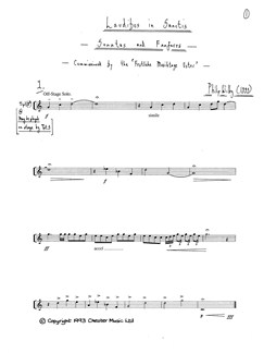 Philip Wilby: Laudibus In Sanctis (Study Score) Books | Wind Instruments, Brass Instruments, Percussion