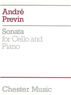 Andre Previn: Cello Sonata Books | Cello And Piano