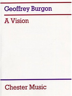 Burgon:  A Vision (7 Songs) Books | Orchestra