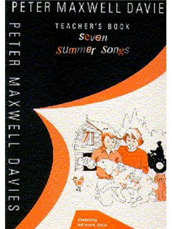 Peter Maxwell Davies: Seven Summer Songs Books | Percussion, Piano, Recorder, Voice