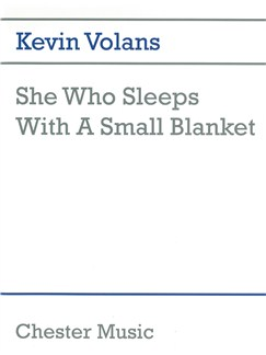 Kevin Volans: She Who Sleeps With A Small Blanket Books | Percussion