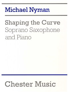 Michael Nyman: Shaping The Curve Books | Soprano Saxophone, Piano