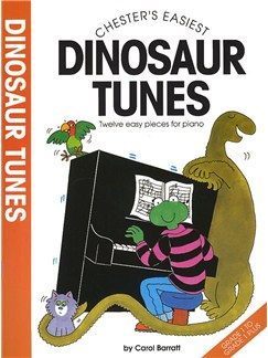 Chester's Easiest Dinosaur Tunes Books | Piano