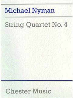 Michael Nyman: String Quartet No. 4 (Score) Livre | Quatuor À Cordes