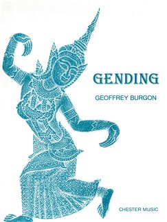 Geoffrey Burgon: Gending (Full Score) Books | Wind Instruments, Percussion