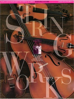 Stringworks: Jazz Standards 1 Bog | Ensemble, Strygekvartet