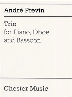 Andre Previn: Trio For Piano, Oboe and Bassoon Books | Oboe, Bassoon, Piano