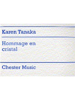 Karen Tanaka: Hommage En Cristal Books | Piano, String Orchestra