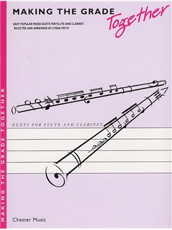Making The Grade Together: Duets (Flute And Clarinet) Livre | Flûte Traversière, Clarinette