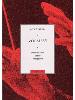 Andre Previn: Vocalise For Soprano, Cello And Piano Livre | Soprano, Violoncelle, Accompagnement Piano