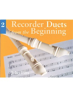 Recorder Duets From The Beginning: Pupil's Book 2 Books | Descant Recorder (Duet)