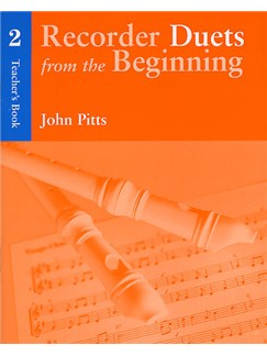 Recorder Duets From The Beginning: Teacher's Book 2 Books | Descant Recorder (Duet), Piano Accompaniment