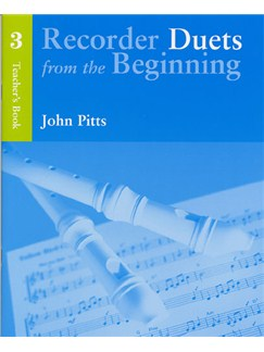 Recorder Duets From The Beginning: Teacher's Book 3 Books | Descant Recorder (Duet), Piano Accompaniment