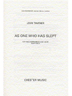 John Tavener: As One Who Has Slept Books | Double Choir
