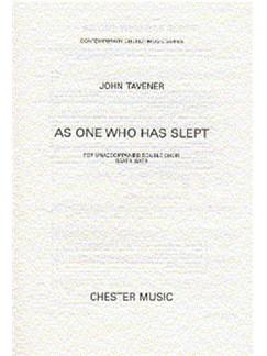 John Tavener: As One Who Has Slept Books | Double Choir