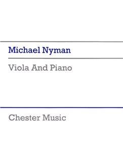 Michael Nyman: Viola And Piano Books | Viola, Piano Accompaniment