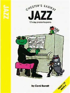 Barratt: Chester's Easiest Jazz Books | Piano