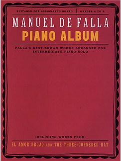 Manuel De Falla: Piano Album Books | Piano