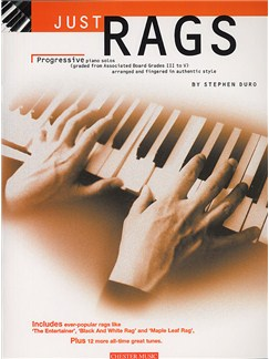 Just Rags: Progressive Piano Solos Grades III - V Books | Piano & Guitar, with chord symbols
