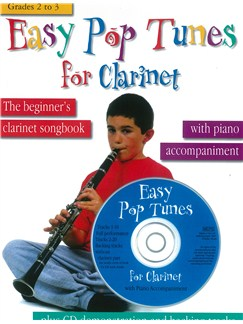 Easy Pop Tunes For Clarinet: Grades 2-3 Books and CDs | Clarinet, Piano