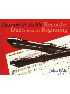 Recorder Duets From The Beginning: Descant And Treble Pupil's Book Books | Soprano (Descant) Recorder, Alto (Treble) Recorder