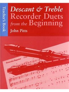 Recorder Duets From The Beginning: Descant And Treble Teacher's Book Books | Soprano (Descant) Recorder, Alto (Treble) Recorder