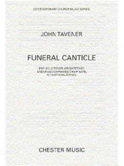 John Tavener: Funeral Canticle Books | SATB